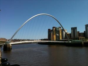 Gateshead Millennium Bridge - ambitious regeneration